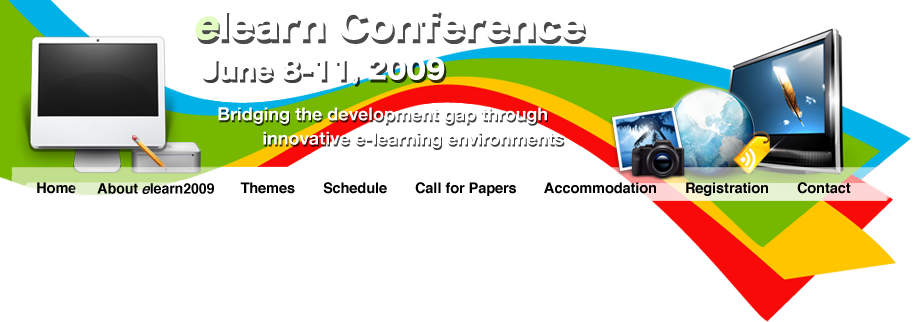 eLearn Conference. June 8-11, 2009. Bridging the gap through innovative e-learning environments